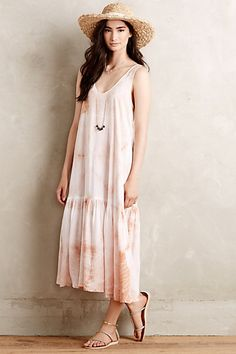 Crystal Cove Dress #anthropologie