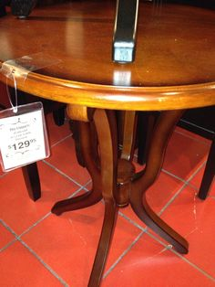 Table at Pier One