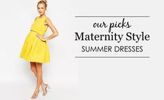 10 Summer Maternity Dresses -  Cute & Comfy!