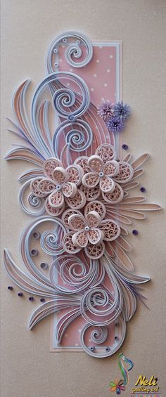 Neli Quilling Art Neli Quilling, Paper Quilling Cards, Paper Quilling Flowers, Paper Quilling Tutorial, Quilling Work, Quilled Paper Art, Origami Paper Art, Paper Quilling Designs, Quilling Jewelry