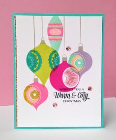Such amazing inspiration for Papertrey Ink's November 2016 Blog Hop!         Aren't those colors gorgeous! I had lots of fun playing! Fir...