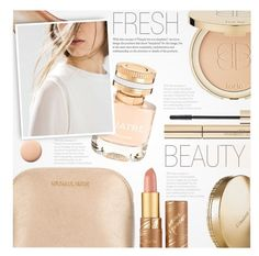 """Fresh Beauty"" by anna-anica ❤ liked on Polyvore featuring beauty, Boucheron, Dolce&Gabbana, tarte, MICHAEL Michael Kors, Elizabeth Arden, Lumière, Beauty, makeup and fresh"