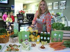 Paulina Kadzielawska owns Pure Juice Cafe at 24 S. Evergreen Ave. in downtown Arlington Heights.