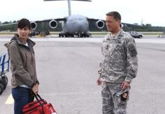 Catherine Bell (Denise Sherwood) & Brian McNamara (Lieutenant General Michael James Holden) - Army Wives