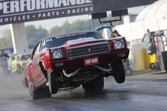 Drag Week 2013 Coverage: Photos of Wheelies from Day 2 at Indianapolis