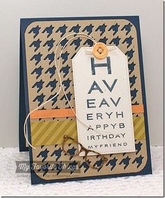 Eye Charts, Striped Background, Geek Is Chic Glasses Die-namics, Houndstooth