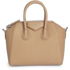 Givenchy Antigona Small Leather Satchel ($2,290) ❤ liked on Polyvore featuring bags, handbags, leather crossbody purse, leather crossbody handbags, purses crossbody, leather purse and man bag