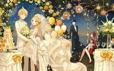 Tags: Anime, iXima, Vocaloid, Kagamine Len, Kagamine Rin, MEIKO (Vocaloid), KAITO