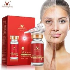 MeiYanQiong Argireline+aloe vera+collagen peptides rejuvenation anti wrinkle Serum for the face skin care products anti-aging cream Anti Aging Creme, Anti Aging Serum, Best Anti Aging, Anti Aging Skin Care, Aging Cream, Aloe Vera, Skin Care Routine For Teens, Coenzym Q10, Anti Ride