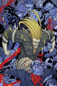 Albino Gorilla, Comic Character, Character Design, Kon Bleach, Tradd Moore, Fighting Drawing, Eagle Wallpaper, Comic Covers, Book Covers