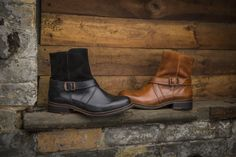 #Since1883 Pearl Ankle Boots (Black and Brown)