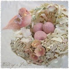 Shabby chic Easter | Easter Sunday | Pinterest