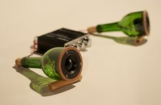 Speakers In Glass: Wine Bottle Speakers