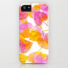 Leaves #2 iPhone & iPod Case by Ornaart - $35.00