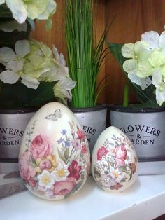 Faux Painting, China Painting, Egg Art, Egg Decorating, Clay Art, Easter Crafts, Easter Eggs, Projects To Try, Crafty
