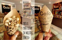 Conos de papel!!! Snacks nutritivos, ecológicos a granel Quito  - Ecuador