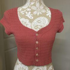 A personal favorite from my Etsy shop https://www.etsy.com/listing/385146176/1990s-bongo-crop-top-rose-color-vintage