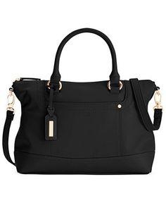 Tignanello Smooth Operator Leather Convertible Satchel - Handbags & Accessories - Macy's