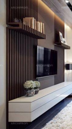 Living Room Decor Ikea, Living Room Plan, Ceiling Design Living Room, Modern Tv Room, Tv Unit Interior Design, Living Room Tv Unit Designs, Townhouse Designs, Luxury Homes Interior, Tv Wall Panel