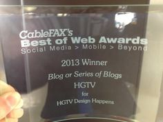 Design Happens Wins a Best of the Web Award!