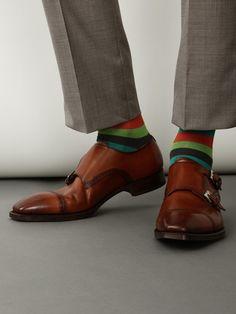 Men's striped socks