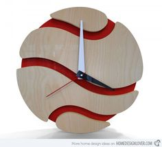 15 Modern Wall Clock Designs Good for Wall Decor   Home Design Lover