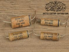 Vintage Repro Capacitor mfd uf 47 nF for Fender Telecaster Stratocaster and other electric Guitar, simply the best Capacitors for restauration and upgrade your Guitar Sound Fender Telecaster, Guitar Fender, Fendi, Cigar Box Guitar, Guitar Collection, Guitar Building, Custom Guitars, Vintage Guitars, Guitar