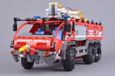 """372 Likes, 2 Comments - Brickset (@bricksetofficial) on Instagram: """"42068 Airport Rescue Vehicle is the smallest of three Technic sets that are released today. We've…"""""""