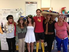 Our Southampton office enjoying their Football World Cup 2014 themed fancy dress day!!