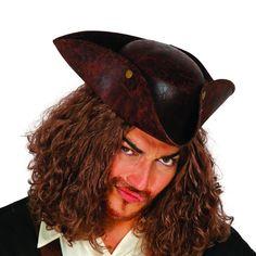 Sombrero Corsario Pirata #sombrerosdisfraz #accesoriosdisfraz #accesoriosphotocall