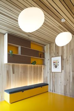 Bespoke Plywood Furniture by Uncommon Projects, Maggie's Oldham