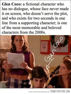 Mean Girls--you go Glen Coco!!