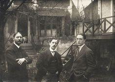 Jacques Villon, Raymond Duchamp-Villon, and Marcel Duchamp