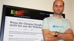 Helge Fahrnberger, maker of Austrian media watchblog Kobuk.at