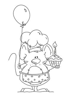 Look what I found on AliExpress Cute Coloring Pages, Coloring For Kids, Adult Coloring Pages, Coloring Books, Scrapbooking Photo, Tampons Transparents, Clear Stamps, Doodle Art, Easy Drawings