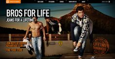 Boys of Europe Website - Showcase Fashion Website Designs