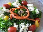 Raw Asian Kale Salad