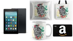 With Love for Books: 3 Million Views Giveaway 2: Kindle Fire 7, Amazon ...