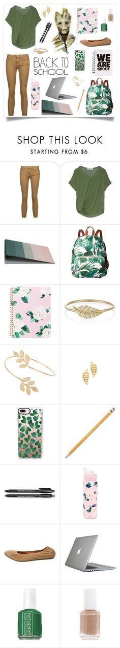 """""""Back To School -:-:- Groot"""" by teal3600 ❤ liked on Polyvore featuring IRO, Elizabeth and James, HAY, Tommy Bahama, ban.do, Jennifer Meyer Jewelry, Miss Selfridge, Casetify, Paper Mate and Lanvin"""
