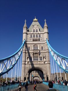 The mighty Tower Bridge tower!