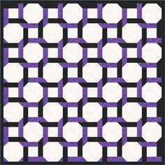 Have Fun with Round the Twist, a Celtic Twist Quilt Block Pattern: Round the Twist Quilt Layout Example