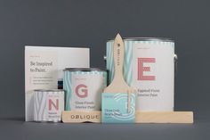 Oblique Paint Co. (Student Project) on Packaging of the World - Creative Package Design Gallery