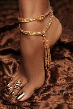 Foot jewellery
