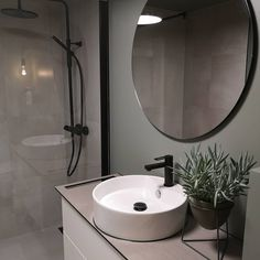 Mirror, Bathroom, House, Furniture, Oslo, Home Decor, Interiors, Board, Bathroom Ideas
