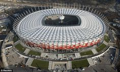 Really Great Football Tips Everyone Should Know. Are you interesting in improving your football game? Are you interested in playing football, but have no idea where to start? Soccer Stadium, Football Stadiums, Football Soccer, Stadium Architecture, Architecture Details, Football Manager Games, Germany Vs, National Stadium, Euro 2012