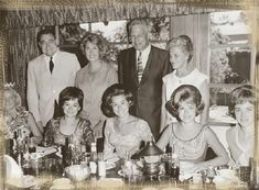 1966 photo of the Lennon Sisters dining at the B. Miss Merced County, Sally Reed of Ballico, is on the left. The Lawrence Welk Show, The Lennon Sisters, Celebrity Singers, Sister Photos, Family Tv, Album, History, Sally, Pictures