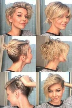 Short hair pixie cuts, Thick hair styles, Hair styles Short hair cuts for women, Hair styles, Short hair styles 2014 - 25 Best Short Pixie Cuts - Pixie Bob Haircut, Short Pixie Haircuts, Bob Haircuts, Undercut Bob Haircut, Poxie Haircut, Pixie Haircut For Thick Hair, Long Pixie Hairstyles, Little Girls Pixie Haircuts, A Line Haircut Short