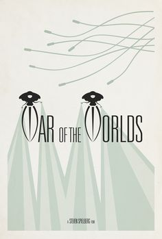 War of the Worlds (2005) - Minimal Movie Poster by Matt Owen ~ #mattowen #minimalmovieposters #alternativemovieposters