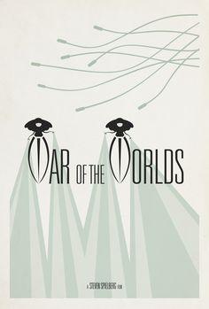 War of the Worlds (2005) - Minimal Movie Poster by Matt Owen ~ #mattowen #minimalmovieposters #alternativemovieposters