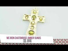 Collar trenzado en cordón y cadena dorada   VARIEDADES CAROL - YouTube